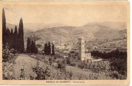 Toscana-siena-gaiole In Chianti Veduta Panorama Gaiole Anni/30 - Italia