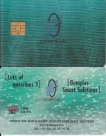NORFOLK ISL. - Gemplus 3D Demo Card $36.16, Mint - Norfolk Eiland