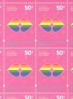 LEY DE MATRIMONIO IGUALITARIO - REPUBLICA ARGENTINA MNH TBE GAY GAYS LESBIAN LESBIANS HOMOSEXUALITE HOMOSEXUALIDAD - Argentina