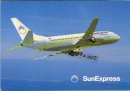 SunExpress Boeing Aerei Aircraft B-737 Avion Aviation Sun Express B 737 Aiplane Planes Flugzeuge B.737 - 1946-....: Moderne