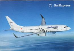 SunExpress Boeing Aerei Aircraft B-737 Avion Aviation B 737 Sun Express  Aiplane Planes Flugzeuge B.737 - 1946-....: Moderne