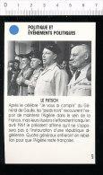 Le Putsch / Algérie Histoire / Général Chale - Salan - Jouhaud - Zeller  / 167-PEL-2 - Oude Documenten
