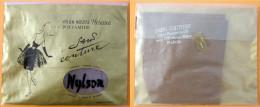 Ancien Bas Année 60/70 Polyamide Nylon Qualité Solide (HELANCA) - Bas