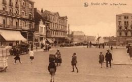 Belgique Knokke Knocke Sur Mer La Place Publique Animée - Knokke