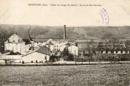 MONTLUEL  Usine De Tissage De Soierie La Sortie Des Ouvriers - Montluel