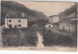 CPA Arnéguy, Le Frontiere Franco-Espagnole (pk18732) - Arnéguy