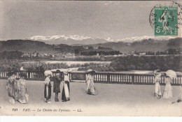 CPA Pau, Le Chaine Des Pyrénées (pk18738) - Pau