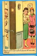 LIP227, Fumeur, Cigarette, W.C, Illustrateur, 1417, Non  Circulée - Humour