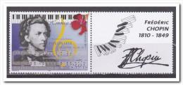 Polynesië 1999, Postfris MNH, Music, Chopin - Frans-Polynesië