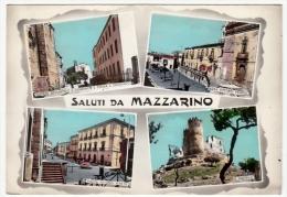 SALUTI DA MAZZARINO - CALTANISSETTA - 1964 - Primi Colori - Caltanissetta