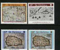 ST. HELENA 1981 Stamps Maps MNH 337-340 # 2031 - Saint Helena Island
