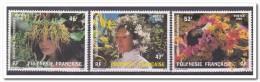 Polynesië 1984, Postfris MNH, Woman, Flowers - Ongebruikt