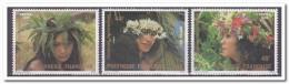 Polynesië 1983, Postfris MNH, Woman, Flowers - Ongebruikt