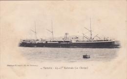 MARSEILLE, Bouches-Du-Rhone, France, 1900-1910´s; 69-Cte Nationale (Le Cholon) , Ship - Unclassified