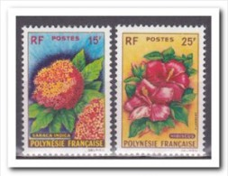 Polynesië 1962, Postfris MNH, Flowers - Ongebruikt