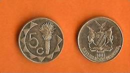 NAMIBIA 1993 5 Cent  KM1, C931 - Namibia