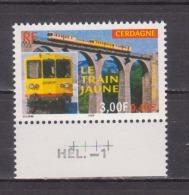 FRANCE / 2000 / Y&T N° 3338 ** : Train Jaune De Cerdagne - Gomme D'origine Intacte - France