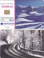 PHONECARDS ROMANIA 2001, WINTER - Romania
