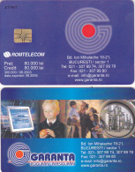 PHONECARD ROMANIA 2003 ADVERTISEMENT, INSURANCE. - Romania