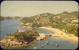Playa Caletilla Desde El Hotel Caleta - Acapulco - Mexico - Formato Piccolo Non Viaggiata - Mexiko