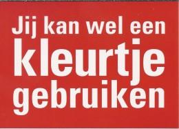 NL.- Boomerang Kaart - Jij Kan Wel Een Kleurtje Gebruiken. Martinair Your Choise - Advertising