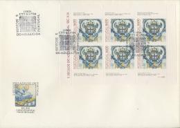 Portugal 1984 Keramik 1625 Kleinbogen FDC (SG9038) - FDC