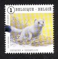 Belg. 2015 - COB N° 4503 ** - Les Animaux En Mouvement  (Hermine - Hermelijn) Du Bloc 225 - België