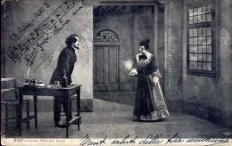 Bobeme Atto I - Giacomo Pucini - Formato Piccolo Viaggiata - Cartoline