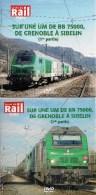 TRAINS : LOT De 2 DVD  SUR Une UM De BB 75000 De GRENOBLE à SIBELIN La Vie Du Rail - Documentary