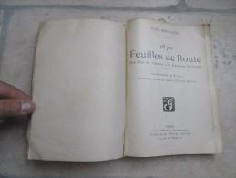 Livre Carnet De Route Guerre 1870 Des Bois De Verrieres A La Forteresse De Breslau + La Bataille Marine Francaise Japon - Books