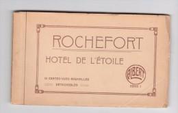 CARNET  Cartes Postales Anciennes De Rochefort  - Hotel De L´etoile - Rochefort