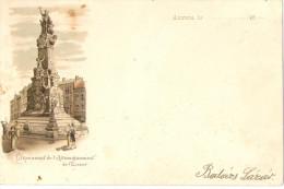 Mv330 Belgium Anvers Antwerpen Monument Of The Liberation Of The Scheldt Lithography - Antwerpen