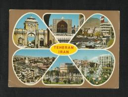 Tehran 6 Scene Picture View Card Postcard - Iran