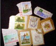 Pakistan KILOWARE StampBag 100g (3½oz) Commemoratives    [vrac Kilowaar Kilovara Mixture] - Mezclas (max 999 Sellos)