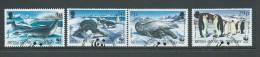 British Antarctic Territory 1992 WWF Endangered Species Penguin & Seal Part Set 4 VFU - British Antarctic Territory  (BAT)