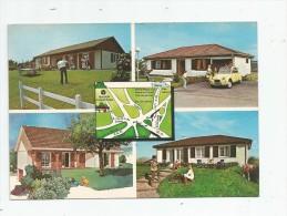 Cp , Automobiles , Voiture De Tourisme  , Citroen 2 Cv , Carte Pub : Maisons Cosmos , 54 , LUDRES - Voitures De Tourisme