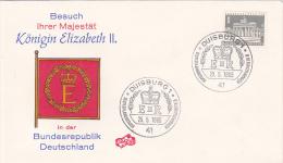 Germany Berlin 1965 Visit Of Queen Elizabeth II Souvenir Cover - Covers