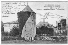MOUTIERS SUR SAULX VIEILLE TOUR DU CHATEAU - Autres Communes
