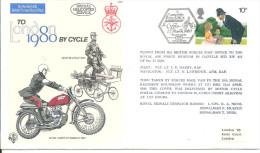 Cyclisme   1980 London Moto - Ciclismo