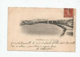 Cp , 78 , FIN D'OISE , Le Pont EIFFEL , Dos Simple , Voyagée 1903 - France