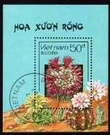 VIETNAM 1987 - Kakteen - Block 58 - Sukkulenten