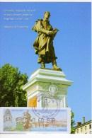Alphonse De LAMARTINE MÂCON -Carte Maximum Avec Lisa  Editions M.G - Cartoline Maximum