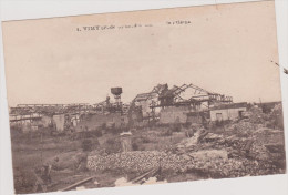(R)PAS DE CALAIS, VIMY  ,ruines De L'usine - France