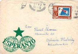 HONGRIE. Enveloppe Ayant Circulé En 1963. Espéranto. - Esperanto
