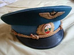 *** Casquette Armée De L'Air *** BULGARIE (époque Du Bloc Soviétique, Années 70/80) - Casques & Coiffures