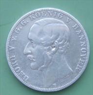 Hannover Taler 1859 - Taler Et Doppeltaler