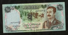 IRAQ - CENTRAL BANK Of IRAQ - 25 DINARS (1987) - SADDAM HUSSEIN - Monete