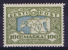 Estland:  Mi Nr 40 MH/*   1923 - Estonie