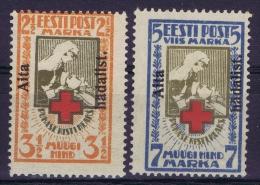 Estland:  Mi Nr 46a MNH/** + 47a MH/*   Signed/ Signé/signiert - Estonia
