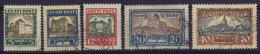 Estland:  Mi Nr 63 - 67 Used   1927 - Estland